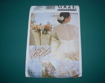 New Vogue, Bridal Accents  Pattern, V7009  (Free US Shipping)