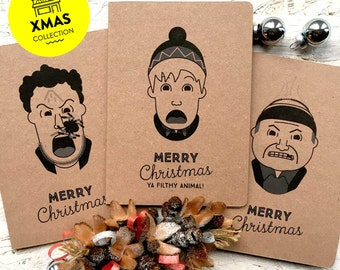 Home Alone Classic inspired Christmas card set