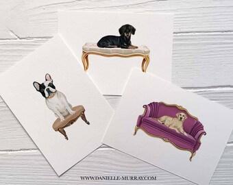 Royal Dog Print - Boxer, Frenchie, Bulldog