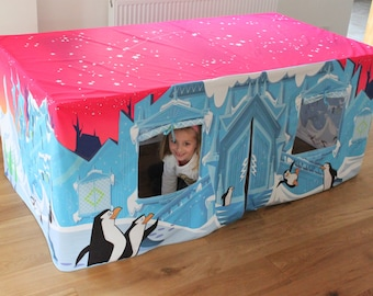 Ice Palace Kids Table Play Den Playhouse Play Tent - Great Birthday Present