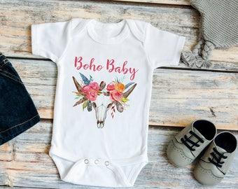 Boho Baby Bodysuit // Boho Baby Girl Clothes // Boho Baby Girl Gift // Boho Baby Shower Gift