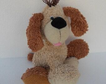 Puppy Plushie Stuffed Animal Dog Vintage Kid's Toy