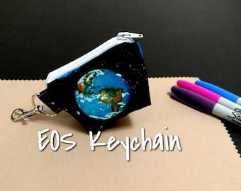 EOS Lip Balm Keychain Earth