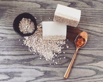 Oatmeal and Honey Goats Milk Soap