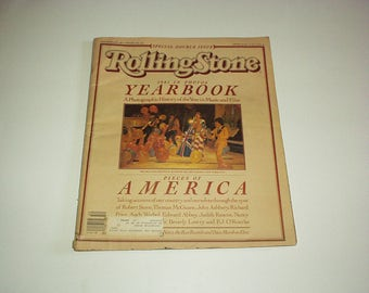 1981 ROLLING Stone YEARBOOK In PHOTOS Double issue *Tom Petty *The Police *The Rolling Stones *Elvis Presley *Meryl Streep *Los Angeles+Ads