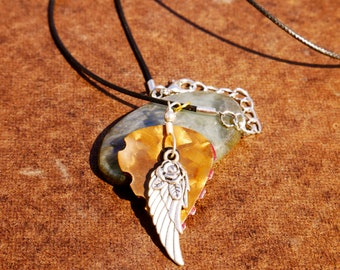 Guitar Pick Necklace -Ang'L Rose