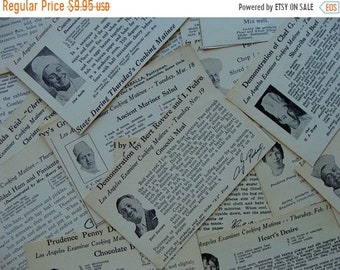 ONSALE Dozen 1930s Vintage Recipes Prudence Penny and Colleagues Recipe Cards Amazing Goodness Lot