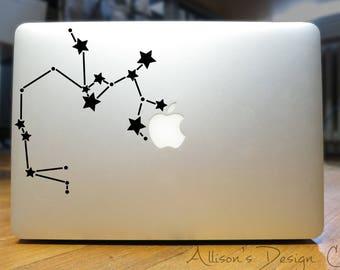 Sagittarius Constellation Vinyl Decal
