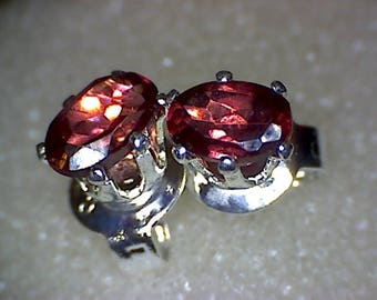 Stunning Rhodolite Garnet Earrings