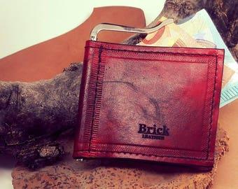 Wallet -Money Clip- Luxury - Leather - Handmade