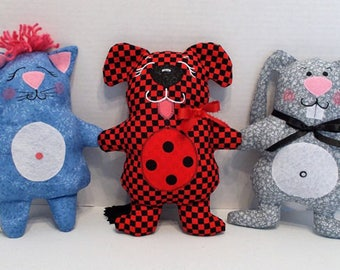 Simple Little Baby Toys - Soft Doll Sewing Pattern – PDF Download Doll Making Pattern