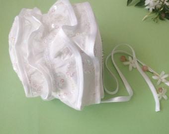 Cotton cap with sequins