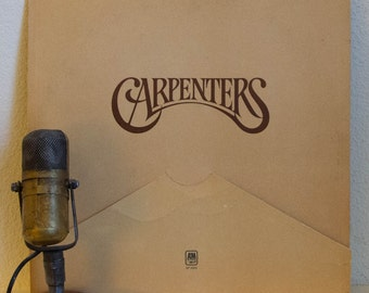 """The Carpenters Vintage Vinyl LP Record Album 1970s Pop Light Easy Listening Ballads """"A Song For You"""" (1972 A&M w/""""Top Of The World"""")"""