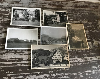 Vintage 1930's Family Photographs-Norway