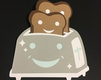Toaster Card - You're My Butter Half, You're My Jam