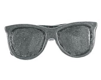 Sunglasses Lapel Pin - CC243- Summer, Recreation, Beach, and Vacation Pins