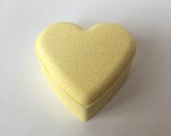 Lemongrass Organic Bath Bomb 3.5 oz- (anti-anxiety)