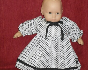 AG Bitty Baby polka dot dress