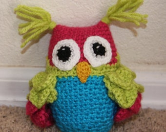 Owl Love You - Stuffed Animal - Crochet Pattern