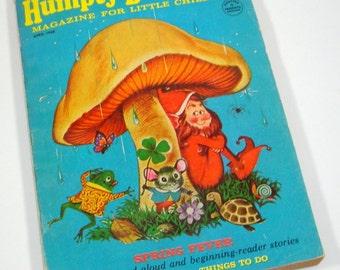 1968 Humpty Dumpty's Magazine For Little Children, Read Aloud Stories, Games, Activities  (182-14)