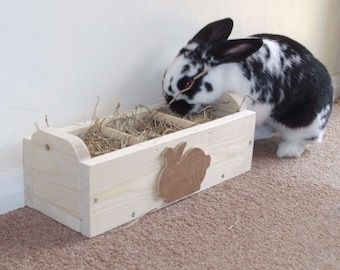 Rabbit Hay Feeder / Feeding Trough