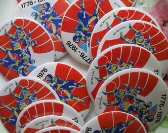 Flea Market Lot of 15 Bicenntenial Pins