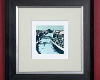 Kilkenny limited edition linoprint