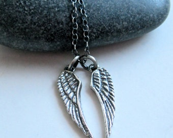 Angel Wings Sterling Silver Necklace