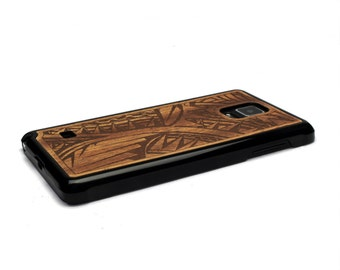 For Samsung Galaxy Note 4 Case Wood Tribal, Note 4 Case Wood  Note 4 Case, Wood Galaxy Note 4 Case, Galaxy Note 4 Wood Case