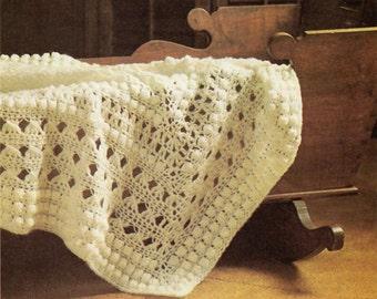Baby Crochet Pattern, Crochet Baby Blanket Pattern, Baby Afghan Crochet Pattern, INSTANT Download  Pattern in PDF (1003)