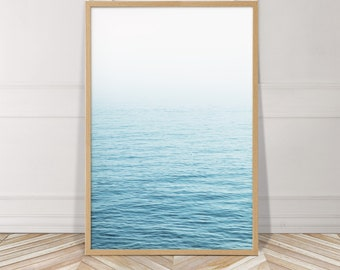 Ocean Photography Art PRINT, Coastal Decor, Horizon, Coastal Photography, Beach House Wall Art, Seascape Photograph, Ocean Wall Art