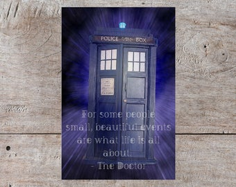Dr Who Birthday Card, Dr Who Baby Card, Dr Who Anniversary Card, Dr Who Card, Doctor Who Birthday, Pun Birthday Card, Funny Birthday Card