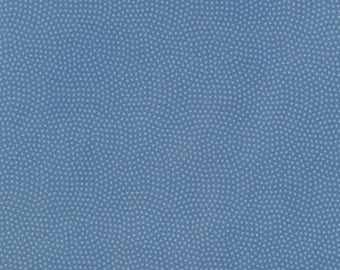 1/2 Yard Timeless Treasures Spin Basics C5300 in Blue