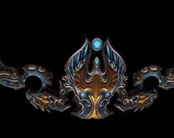 Thori'dal, the Stars' Fury World of Warcraft cosplay prop