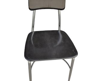Save 20% on Haywood Wakefield Midcentury Glossy Black Fiberglass Chairs.