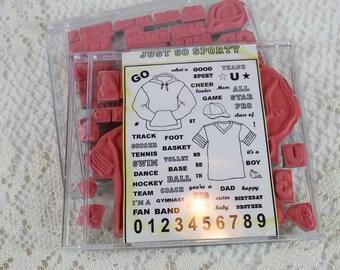 DESTASH - Gina K Stamp utilisés ensemble - tout simplement sportif