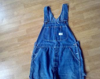 Overalls, Bibs  waist 36x 31 work ware farm ware blue Big Mac