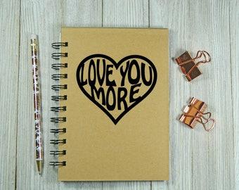 T'aime plus portable/journal