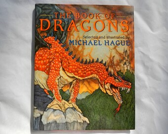 Dragons by Michael Hague Vintage Hardcover The Book of Dragons