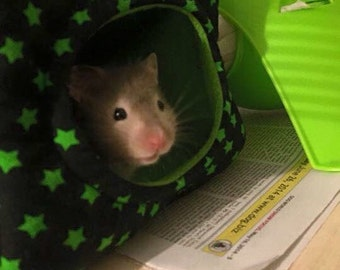 Custom made to order small animal cube (hamster, mouse)