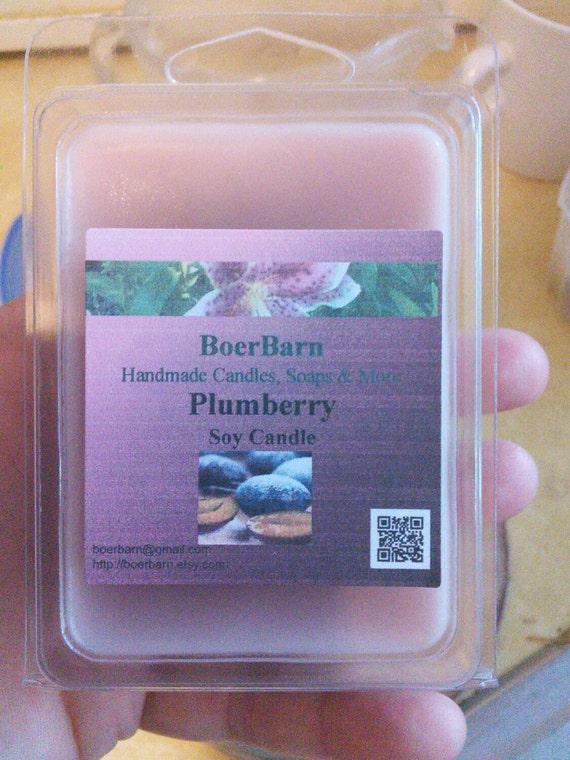 Plumberry Soy Clamshell Tart