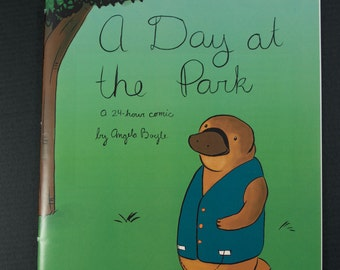 A Day at the Park (a 24-hr comic)