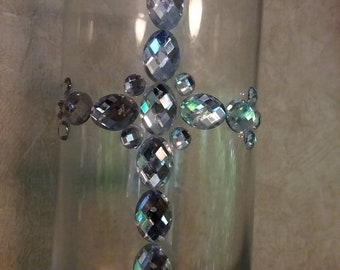 Diamond Cross Vase