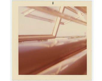 Vintage Snapshot Photo: Open Windows, Abstract, c1960s (74565)