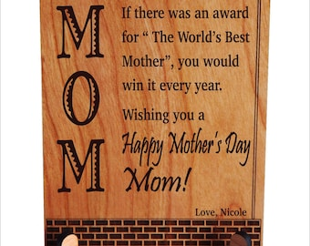 Mothers Day Gift for Mom - Mother's Day Gifts - Mom Appreciation Gift from Daughter - Son,  PLM023