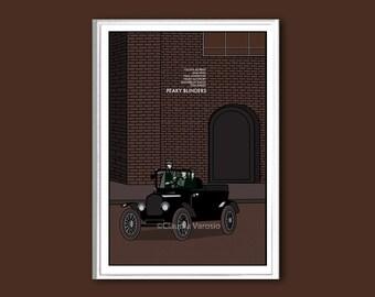 Peaky Blinders poster print in various sizes