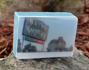 Bates Motel Soap Bar - Novelty Soap - AN AJSWEETSOAP EXCLUSIVE - Bates Motel