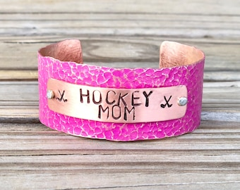 Cadeau pour Hockey maman, Bracelet maman de Hockey, Hockey maman bijoux, idées de cadeau de maman de Hockey, Hockey Mom mères jour, Football, Lacrosse, Baseball