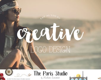 Custom Logo Design Boutique Logo Website Logo Blog Logo Business Logo Design Bespoke Logo Watercolor Logo Vintage Logo Photography Branding