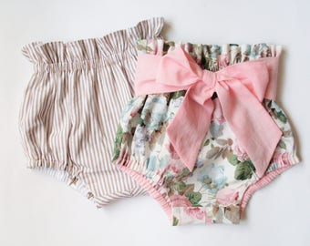 Baby Toddler Bloomers pattern, High Waisted Bloomer PDF, Bloomers pattern, Baby shorts pattern, Diaper Cover pattern, Patterns for kids